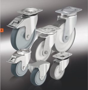 Колеса и ролики с изготовленным методом литья