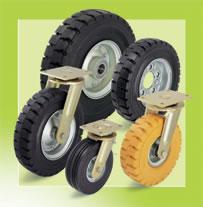 стандартные колеса из литой резины