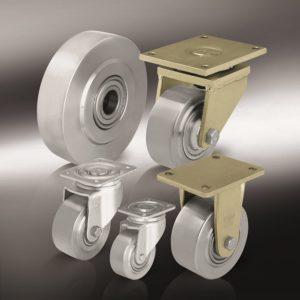 Особо-большегрузные колеса и ролики из стали (16)