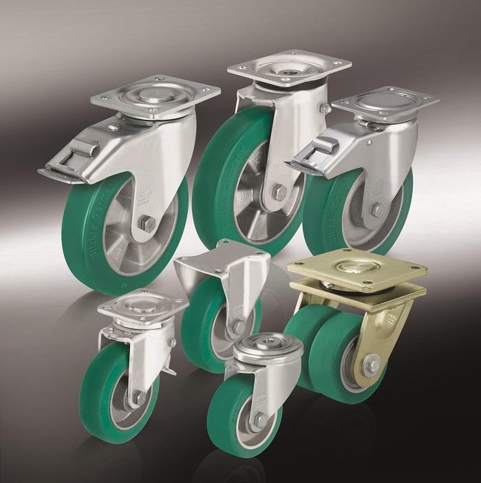 Большегрузные колеса и ролики с литым полиуретановым контактным слоем Blickle Softhane (9)