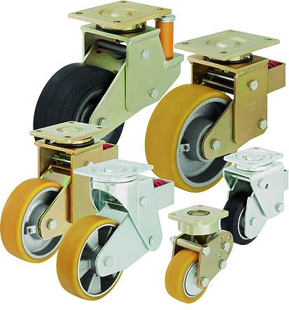 Основные критерии выбора роликов и колес фирмы Blickle