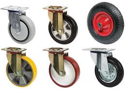 типы колес и роликов