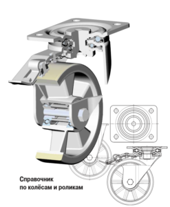 Дополнительные обозначения в маркировке аппаратных роликов и колес