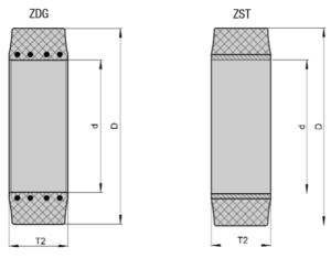 бандажные резиновые шины