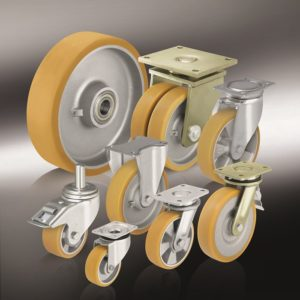 (11) Большегрузные колеса и ролики с литым полиуретановым контактным слоем Blickle Extrathane