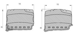 Эластичные резиновые шины