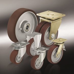 (12) колеса из чугуна и стали blickle Besthane