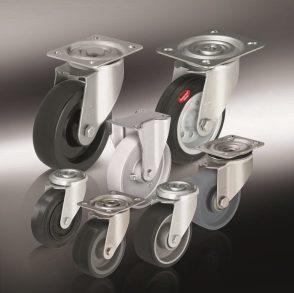 Жаростойкие колеса и ролики