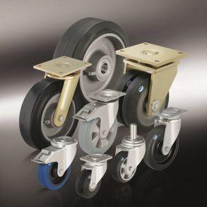(5) большегрузные колеса с цельнолитой шиной