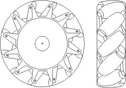 колесо omni
