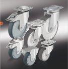 Колеса и ролики полиуретановые изготовленные методом литья