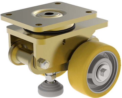 Крепежные панели для колес Blickle к тележкам кронштейн HRLSD